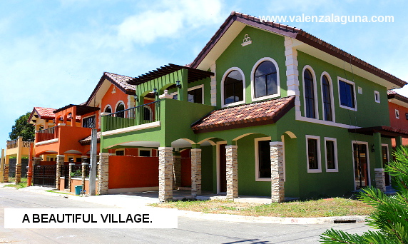 Valenza Sta. Rosa - House and Lot for Sale in Sta. Rosa, Laguna Philippines