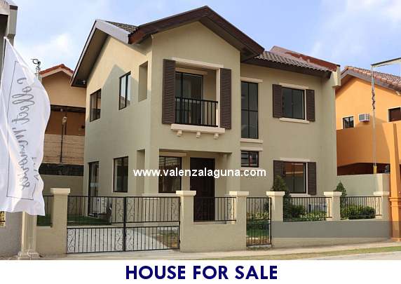 Valenza Sta. Rosa - Designer 110 House for Sale in Sta. Rosa, Laguna