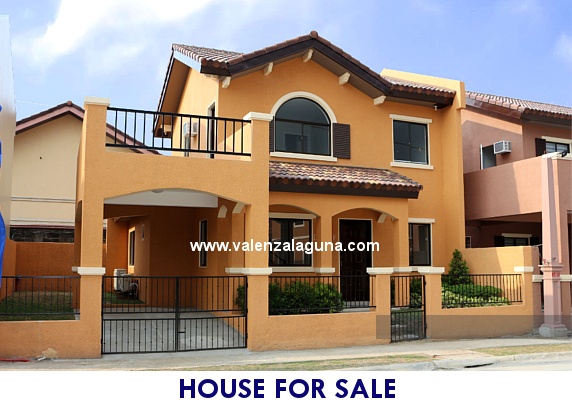 Valenza Sta. Rosa - Designer 142 House for Sale in Sta. Rosa, Laguna