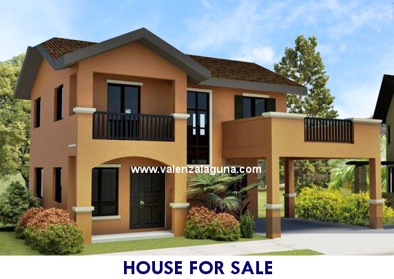 Valenza Sta. Rosa - Designer 166 House for Sale in Sta. Rosa, Laguna